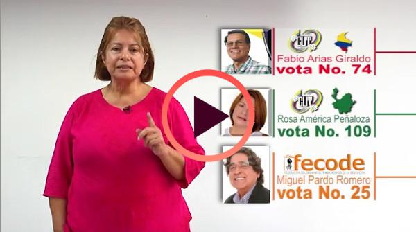Elecciones CUT y FECODE.